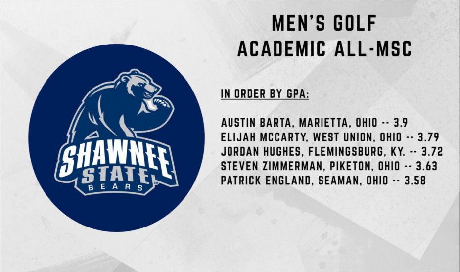 Golf MSC honorees