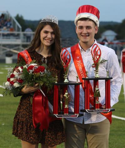 Piketon Homecoming Queen and King