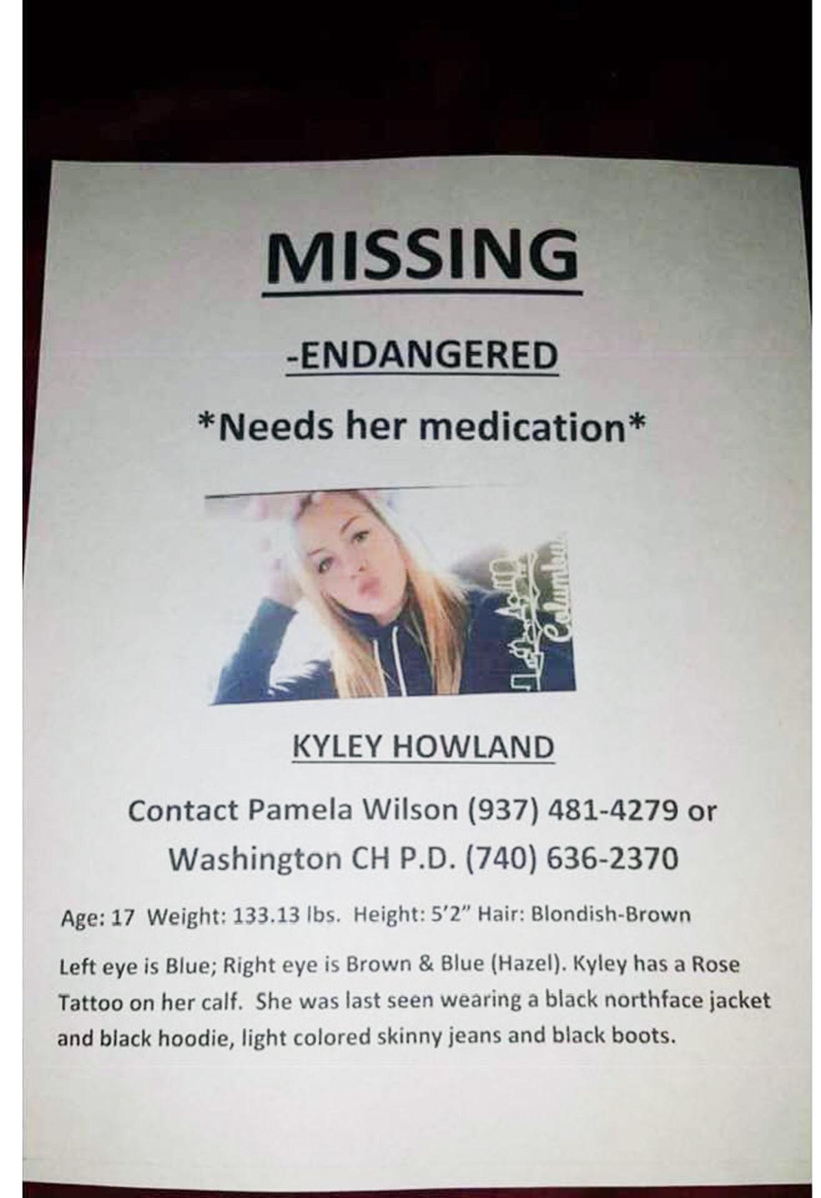 Law enforcement seeking missing girl