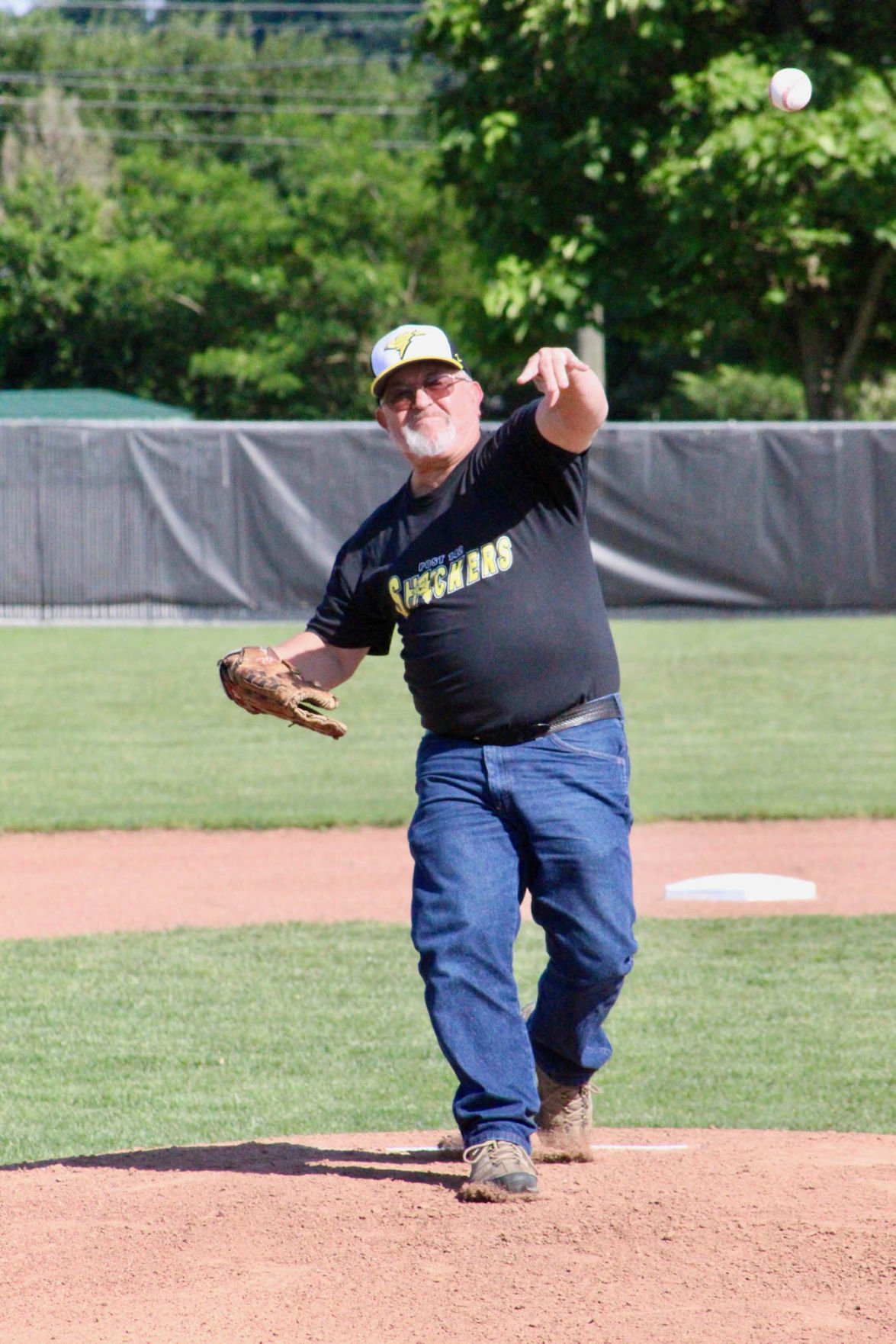 Dixon 1st pitch