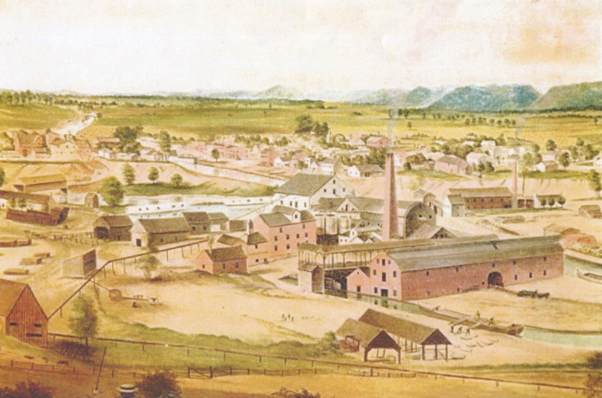 Copy of an 1859 painting