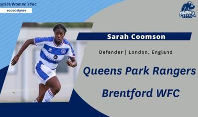 SSU women's soccer - Sarah Coomson