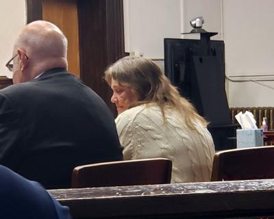 Rita Newcomb in court