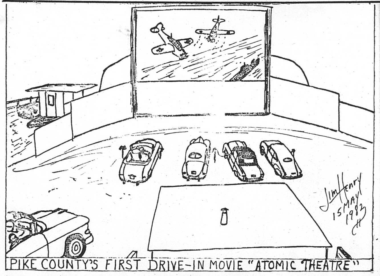 Recalling past area drive-in theaters and an old column