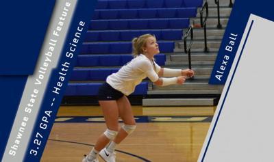 SSU volleyball graphic-Ball