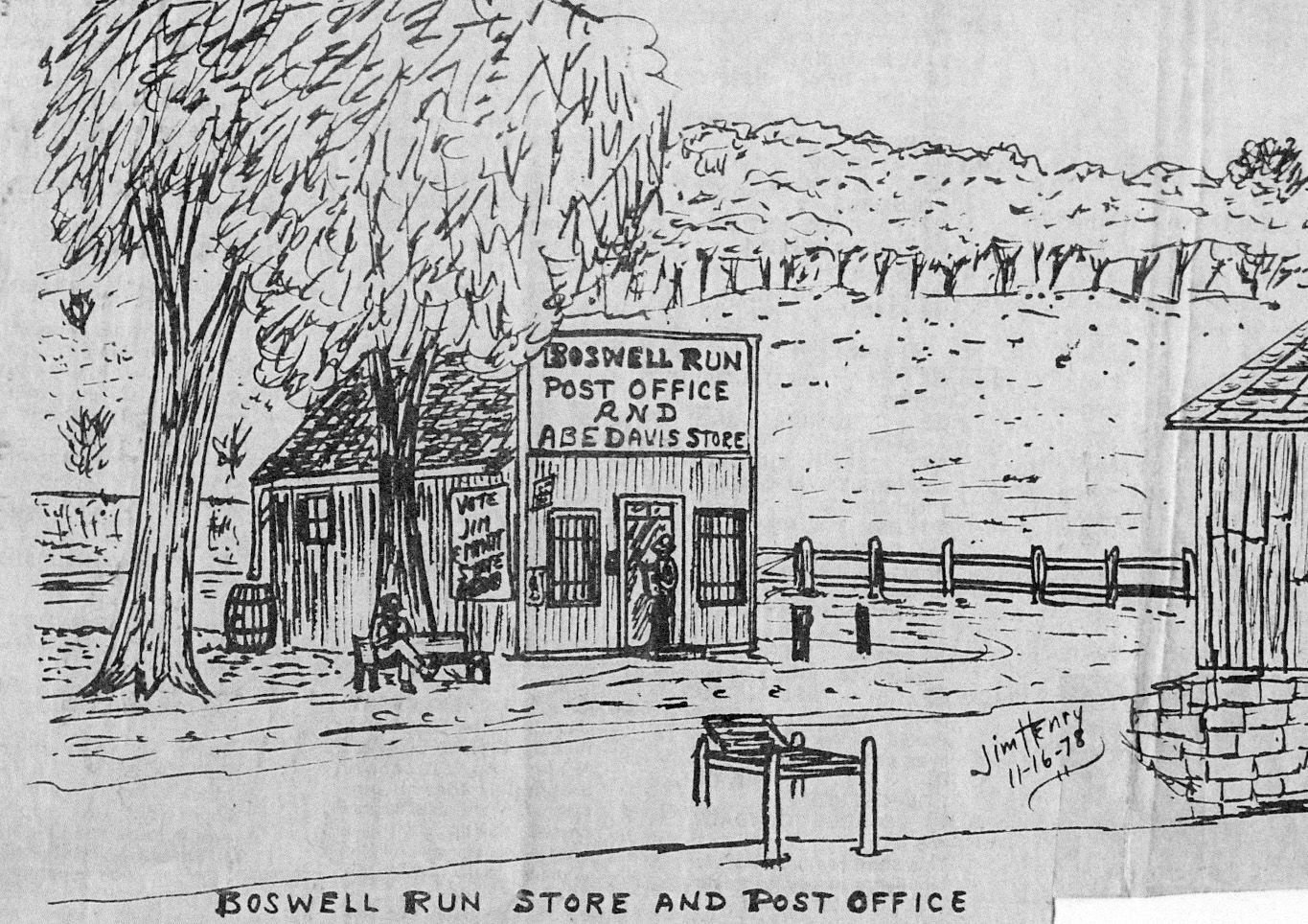 Boswell Store sketch
