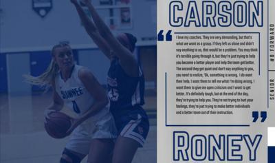 Carson Roney SSU graphic