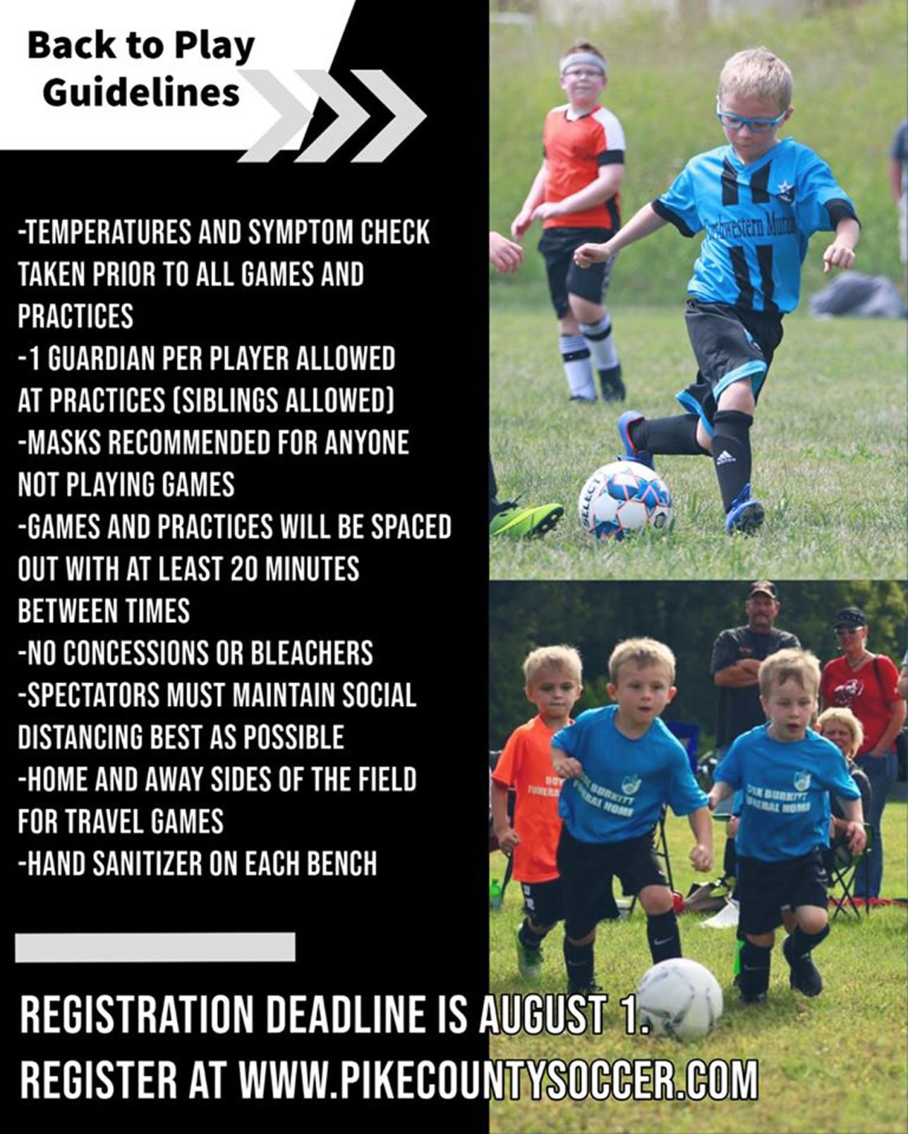 youth league soccer information