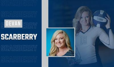 SSU Volleyball Coach Devan Scarberry