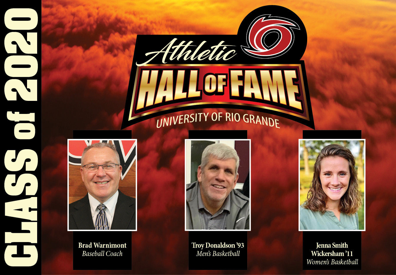 Rio Grande Class of 2020 Athletic Hall of Fame