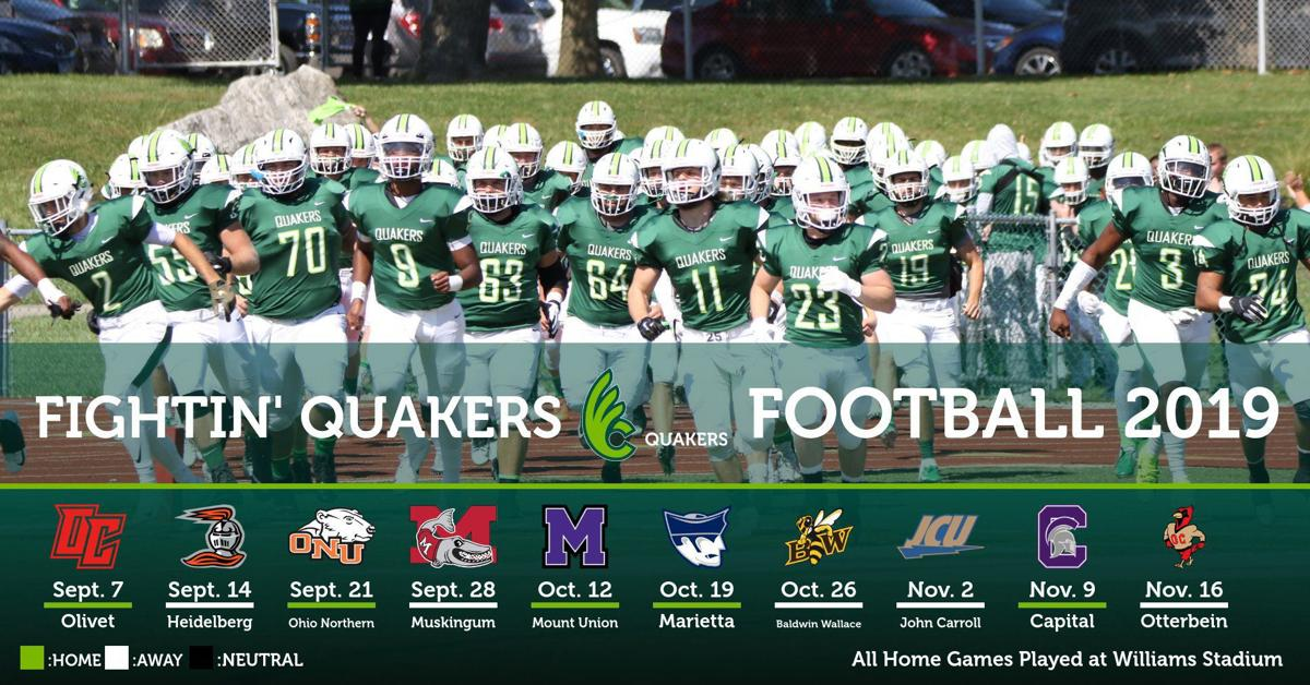Wilimgton College Releases Finalized 2019 Football Schedule