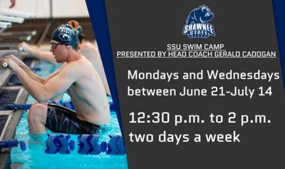 SSU Swim Camp graphic