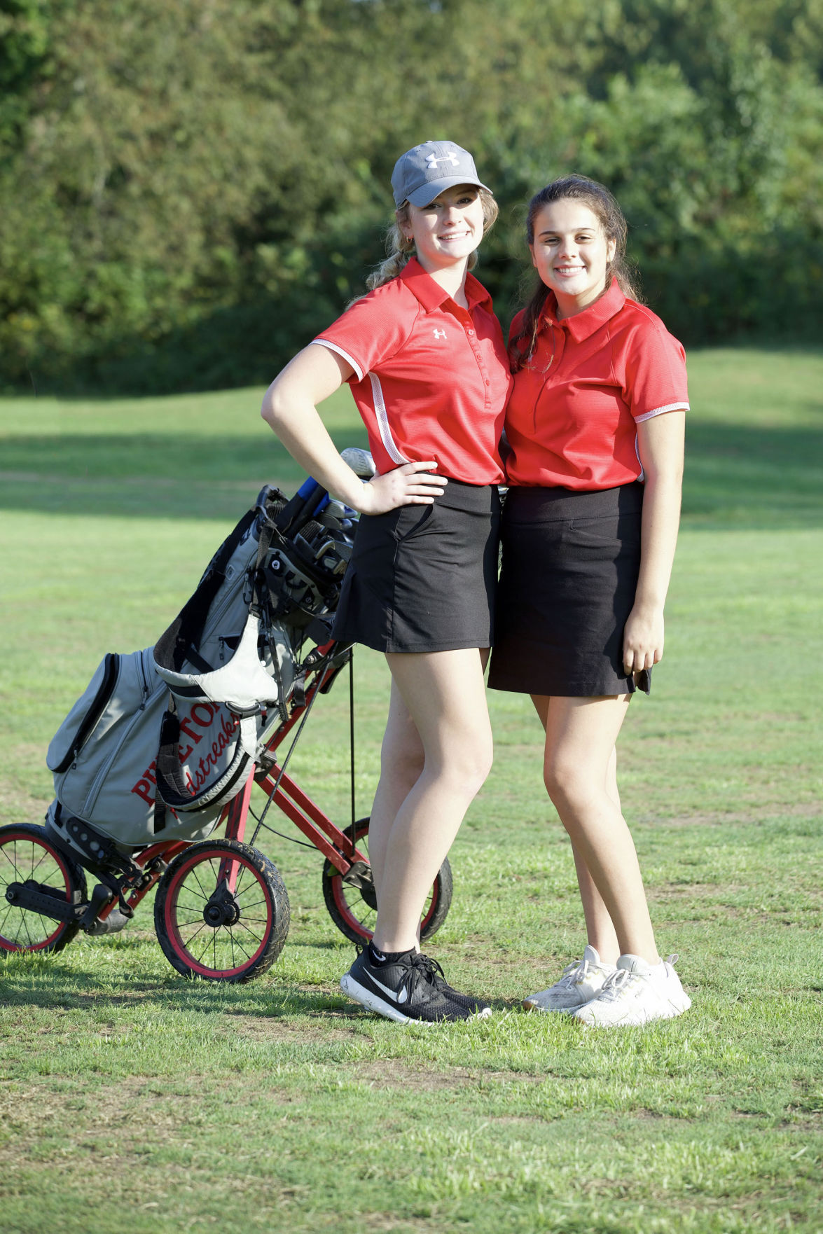 Co-medalists - Maggie Armstrong and Brynna Spencer
