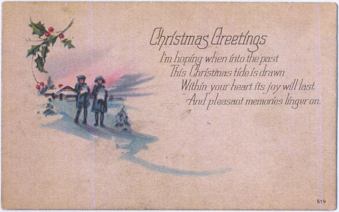Christmas Greetings 12-18