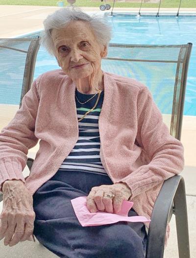 Scowden 100th birthday
