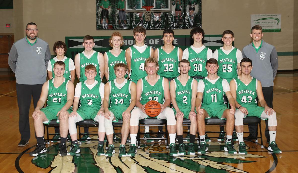 Western varsity boys basketball team