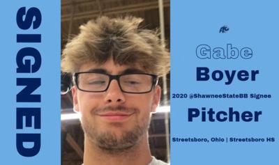 SSU Baseball - Gabe Boyer photo