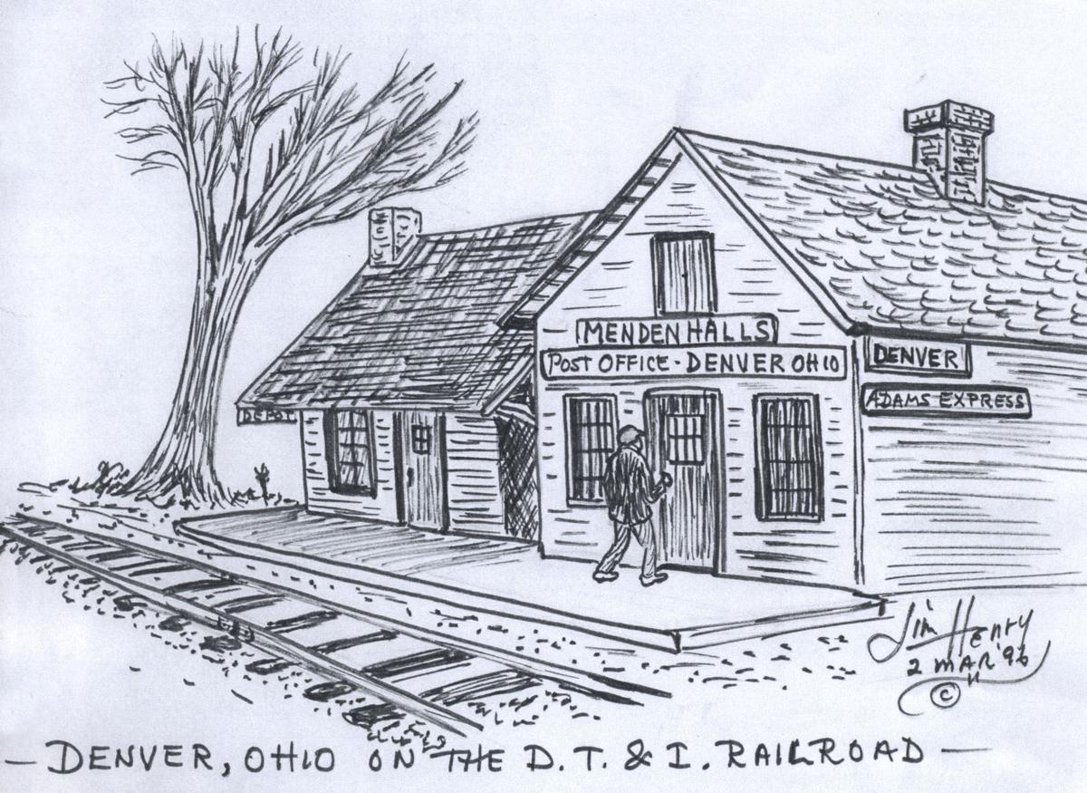 Denver Railroad sketch