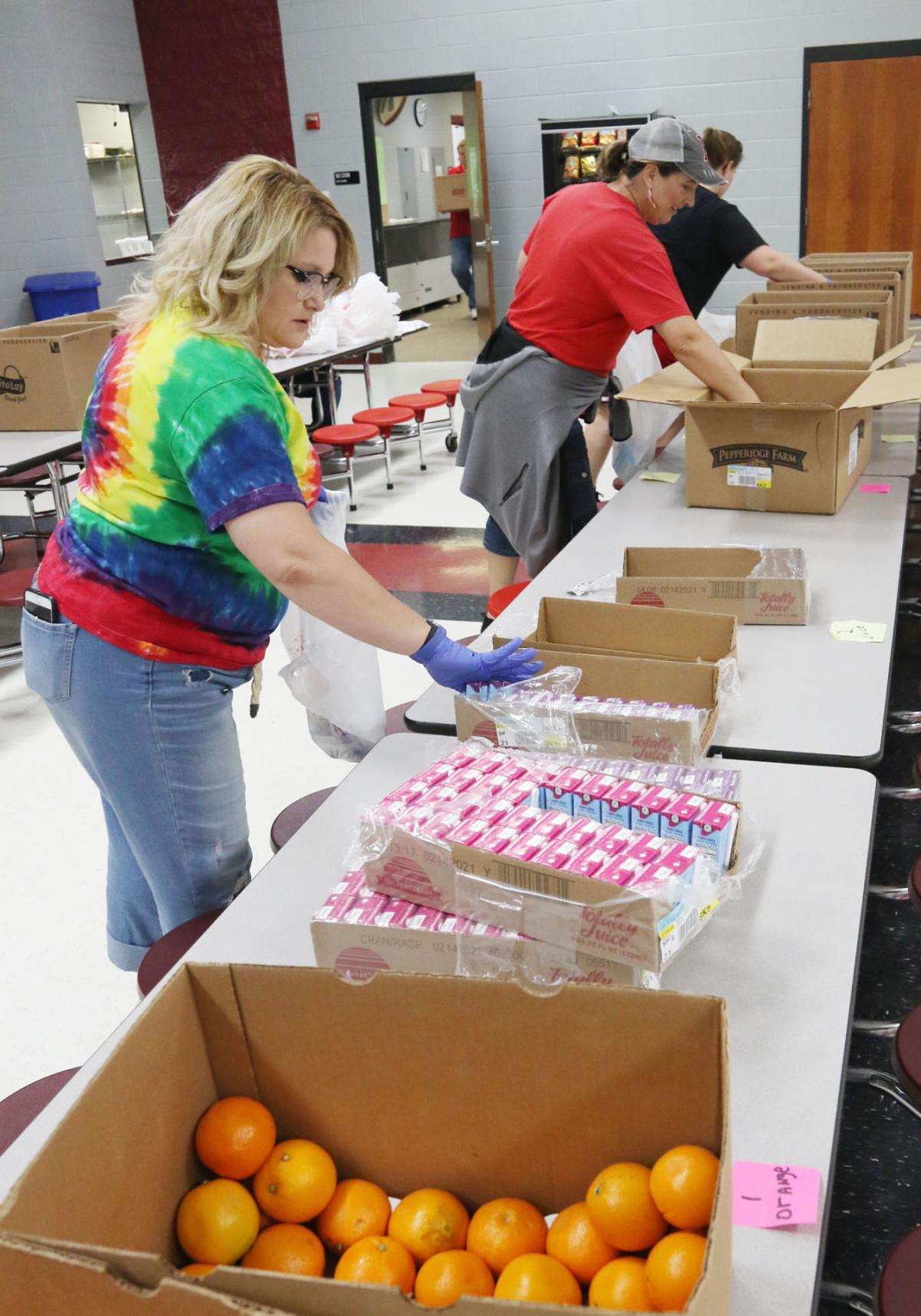 PHS feeding - packing