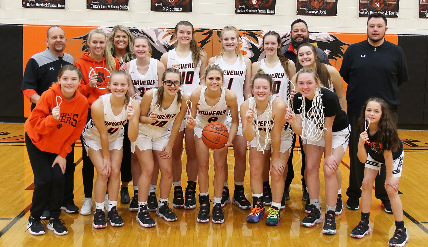 Waverly girls basketball - sectional champs
