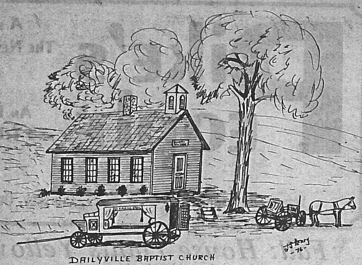 Dailyville Church - former building