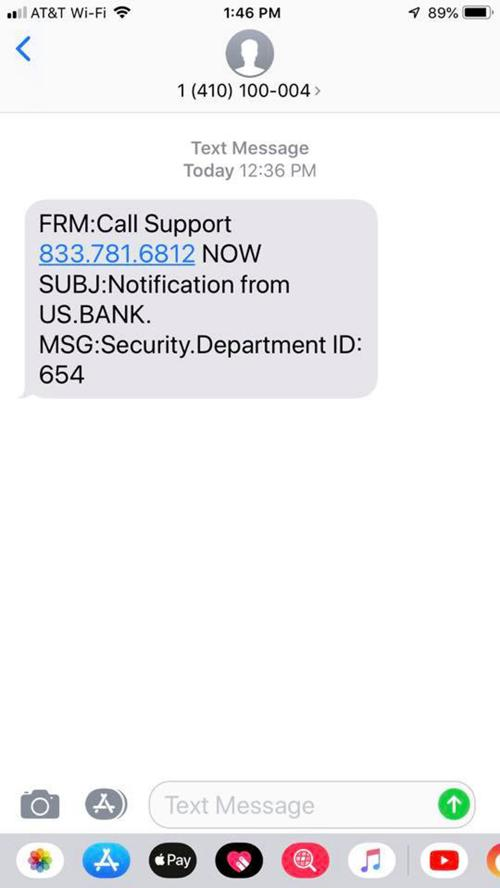 Sheriff's office warns of possible text message scam   News
