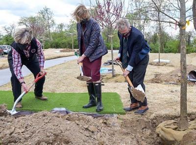 Governor Dewine Dedicates Tree Grove to Survivors/ Victims of COVID-19