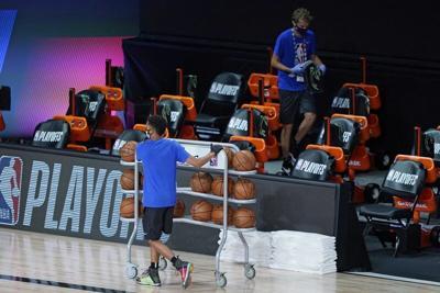 NBA playersboycott playoff games