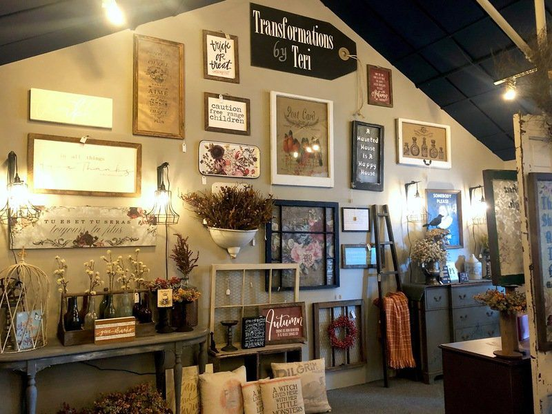 Old Chapel Antique owners debut new store in former flower shop