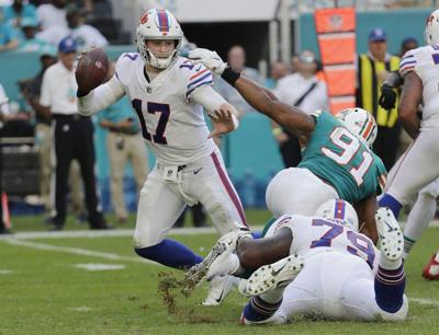 Drops Miscues Buffalo Bills Niagara Gazettecom