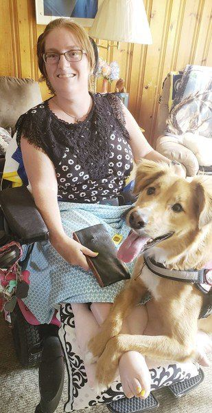 Lockport women beats challenges to train dogs