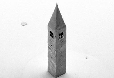 Nano-sized Cornell McGraw Tower thought to be world's smallest bell tower