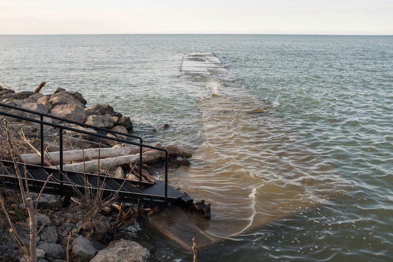 Lake Ontario water levels on the rise