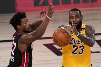 Lakers top Heat, take 3-1 lead in NBA Finals