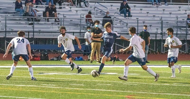 Nick Sciandra's OT goal lifts NT boys soccer to sectional win