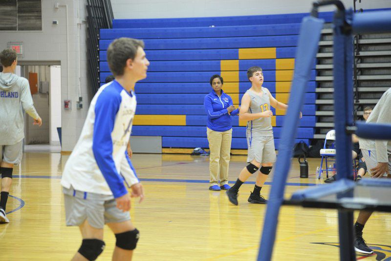 Grand Island breaking away from crowdedboys volleyball pack