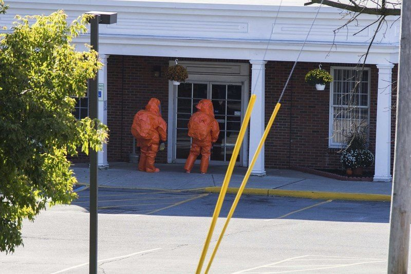 Authorities blame non-toxic irritant for post office scare