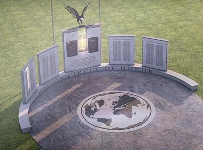 Plan changes for Veterans Monument in Lewiston