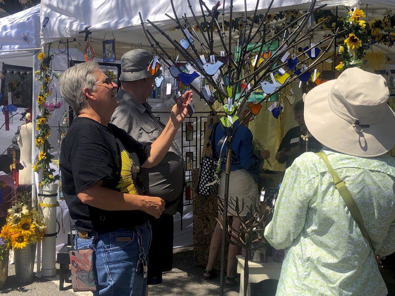 Lewiston Art Festival draws big crowd, 2019 winners announced