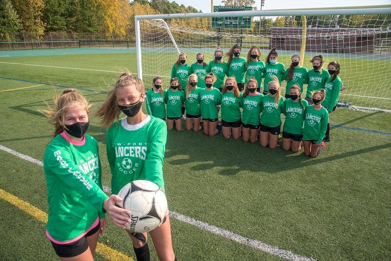 Lew-Port girls soccer dedicates season to the Monteleone family