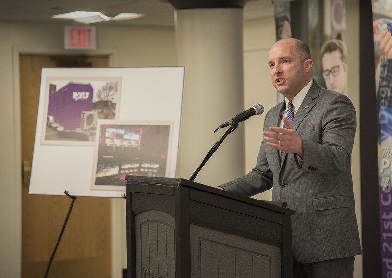 Former NU grad's $1M gift funding video boards, production trailer for college