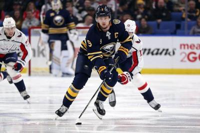 Sabres GM Adams says he has no intention of trading Eichel