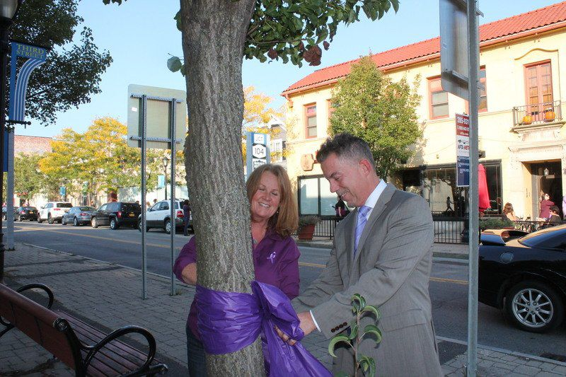 Purple ribbons send an important message | Local News
