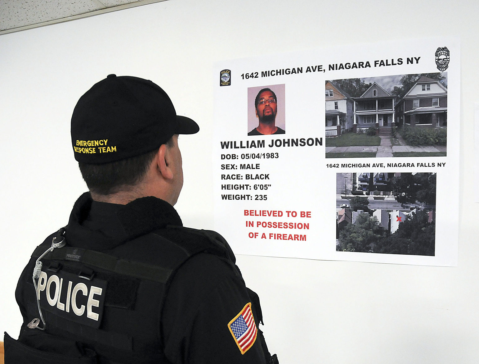 Falls police launch spring attack on neighborhood