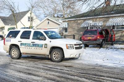 Stolen vehicle crashes into Packard Road home