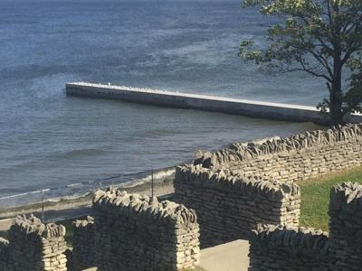 Pier Wall Repaired At Olcott Beach