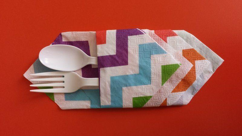 3 Simple Ways to Fold a Napkin | DIY Network Blog: Made + Remade | DIY | 450x800