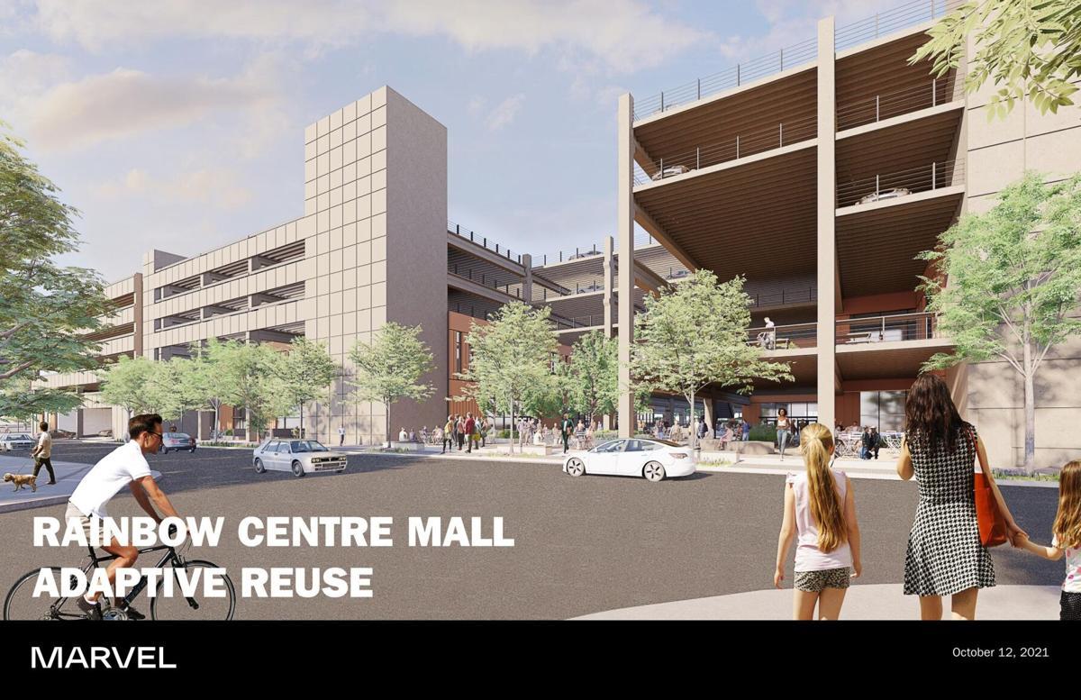Marvel Architects' presentation on the former Rainbow Centre Mall