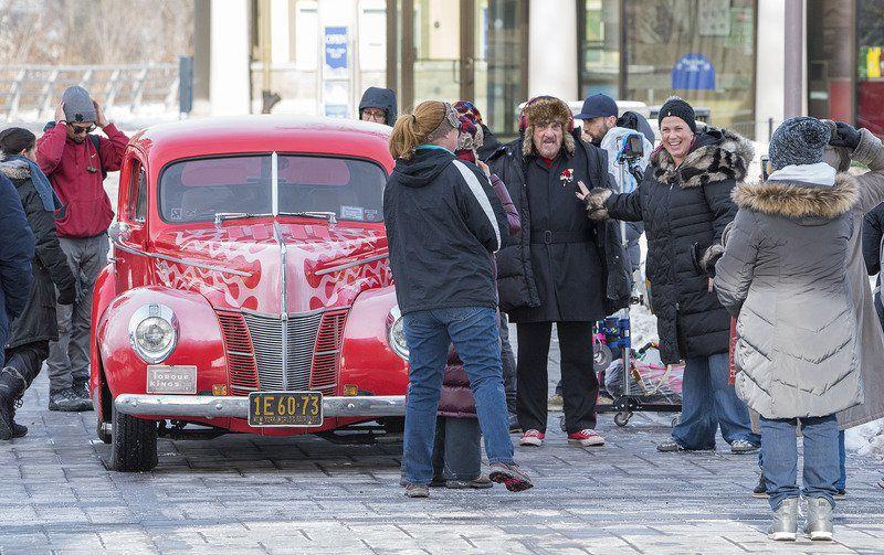 John Rhys-Davies on hand as 'Prick'd' films scenes in Falls