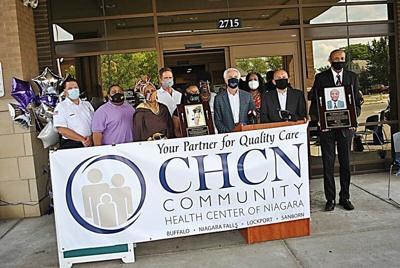 Community Health Center of Niagara Falls honors